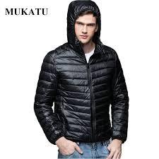 plus size light jacket plus size men parka winter hooded jacket coat 90 white duck down