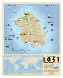 Where I Ve Been Map Professional Cartographer Creates The Best Map Of Lost U0027s Island Yet
