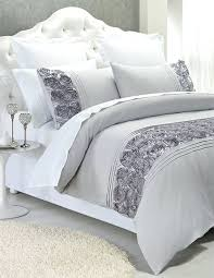 Silver Duvet Cover Silver Quilt Set Quilts Xavier Silver Quilt Cover Set Black And
