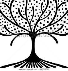 vector sign tree stock vector 264072245