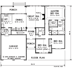 first floor master bedroom floor plans house plan the dewfield by donald a gardner architects
