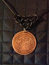 celtic pictish wolf medallion banshee arts