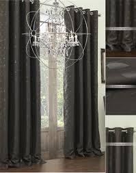 Black Curtain Black Curtains Absolute Zero Total Blackout Black Faux Velvet