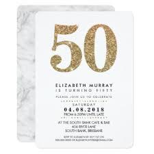 50th birthday invitations u0026 announcements zazzle co uk