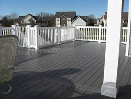 vinyl deck material choices boards or flooring