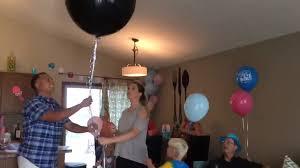 balloon delivery eugene oregon 36 black gender reveal balloon reveal party balloon
