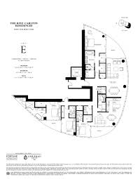 orange grove residences floor plan the ritz carlton residences sunny isles beach