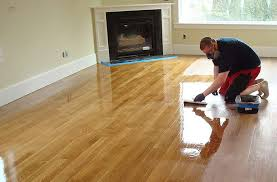 how to refinish hardwood floors corner
