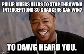 Philip Rivers Meme - easy fix to chargers losing on offense imgflip