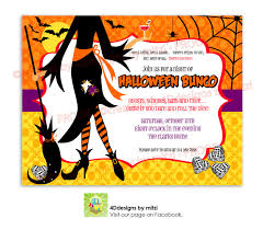 Halloween Bunco Party Ideas by Halloween Invitations Template Youtuf Com