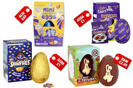 cheap easter eggs where to buy the cheapest easter eggs with prices starting from 65p