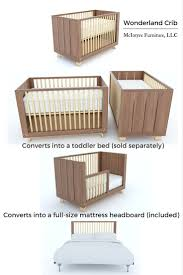 Crib That Converts To Full Bed by 15 Best Crib Making By Mcintyre Furniture Llc Images On Pinterest