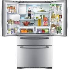 Refrigerator With French Doors And Bottom Freezer - samsung rf4287hars refrigerator review