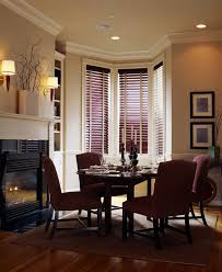 dark wood crown molding dining room traditional with painted