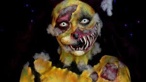 Halloween Animal Makeup Demented Stuffed Animal Halloween Sfx Makeup Tutorial Jordan