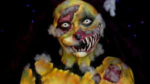 demented stuffed animal halloween sfx makeup tutorial jordan
