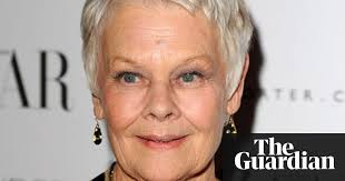 judi dench hairstyle front and back of head judi dench unable to read scripts due to degenerative eye condition
