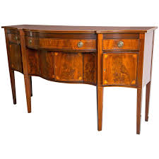 Mahogany Sideboards And Buffets Antique Solid Mahogany Sideboard Buffet By Drexel At 1stdibs