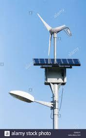 Solar Power Street Light by Solar Powered Street Light Stock Photos U0026 Solar Powered Street