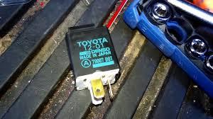 1992 toyota camry problems 1993 93 toyota camry signal relay problem glove box