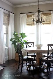 28 ways to spruce up white curtains bamboo roman shades white