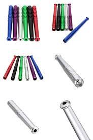 visit to buy 1x mini baseball bat smoke metal cigarette pipes