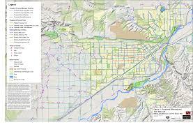 Montana City Map by Billings Bike Plan City Of Billings Mt Official Website