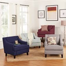 Arm Accent Chair Winslow Concave Arm Modern Accent Chair By Inspire Q Bold Free