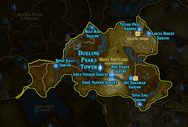Twin Peaks Map Botw Shrine Map And Location Guide Polygon