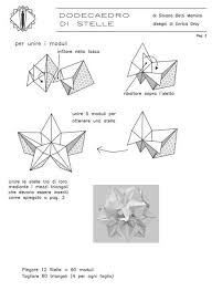 modular free diagrams instructing you how to fold unit origami