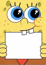 type in your own wording to this spongebob invite diy