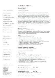 Sample Resume For Sous Chef 100 Chef Resume Examples Culinary Resume Template Chef Resumes