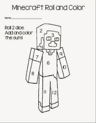 free minecraft dot a dots free homeschool and activities