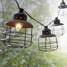 crate and barrel light fixtures crate and barrel outdoor lighting black geo cage string lights