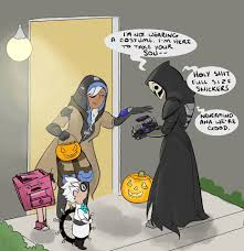 reaper background overwatch halloween reaper halloween overwatch overwatch pinterest gaming video