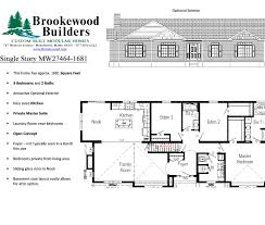 2 open concept floor plans better homes building co inc amazing