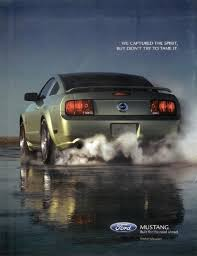 ford mustang ad 49 years of mustang advertising the about cars