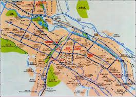Dongguan China Map by Xining