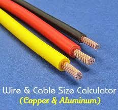 electrical wire u0026 cable size calculator copper u0026 aluminum