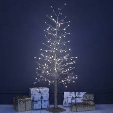 led christmas tree chagne gold led christmas tree by primrose plum