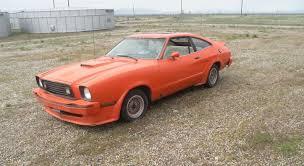1978 king cobra mustang for sale tangerine ford mustang ii king cobra