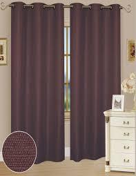 Alton Solid Grommet Window Curtain Panel Amazon Com Set Of 2 Solid Window Curtain Panel 38 X 84