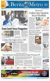 berita metro 19 mei 2017 by harian berita metro issuu
