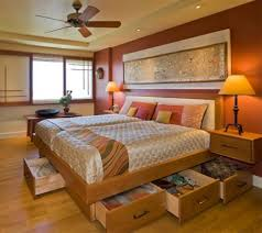 Bedrooms Asian Bedroom With Luxury by Storage Ideas For A Small Main Or Master Bedroom Wood Working
