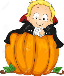 illustration of a baby dressed as a vampire stock photo picture