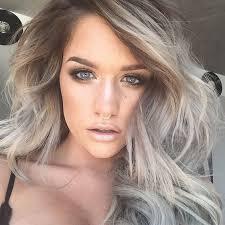 trendy grey hair 19 super trendy blonde grey hair ideas styleoholic