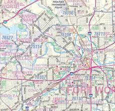 Dallas County Map Dallas Fort Worth Metroplex Detailed Region Wall Map W Zip Codes