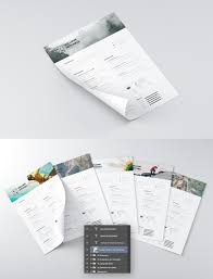Free Graphic Resume Templates 25 Best Free Resume Cv Templates Psd Download Download Psd