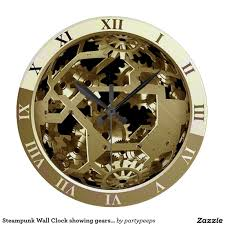 Awesome Clocks by Home Design Large Wall Clocks With Gears Closet Designers