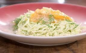 cuisiner haddock ma recette de salade de chou au haddock laurent mariotte
